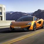 Itt az elérhető árú, kis McLaren