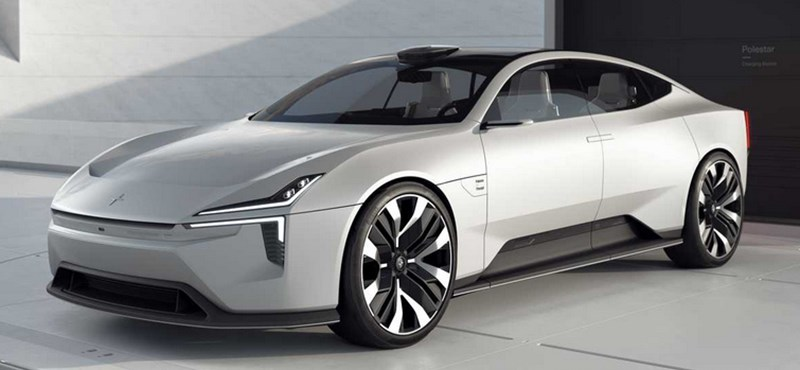 Androidot futtat a Polestar futurisztikus új villanyautója