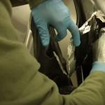 Százmilliós drogszállítmányt kapcsoltak le Röszkén