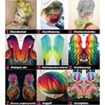 Pusztító hajtrend hódít: színes unikornisszarv-fonat nő ki a fejekből