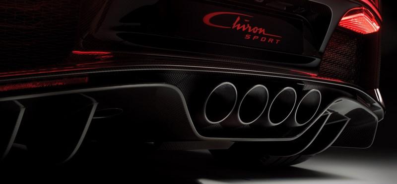 831 millió forint lett a megvadított Bugatti Chiron