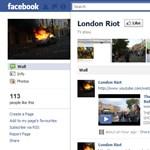 Brit tizenéveseket tartóztattak le, mert a zavargásokról írtak a Facebookon