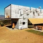 Zseniális tákolmány Chiléből - Egy szokatlan, de mutatós ház (fotókkal)