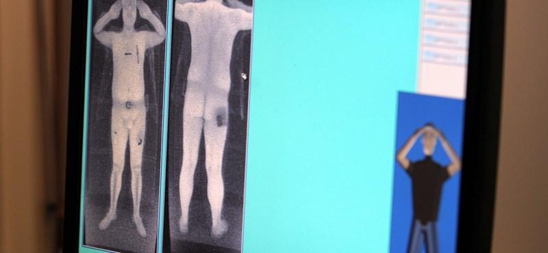 Lemeztelenítő testszkenner jöhet a Parlamentbe