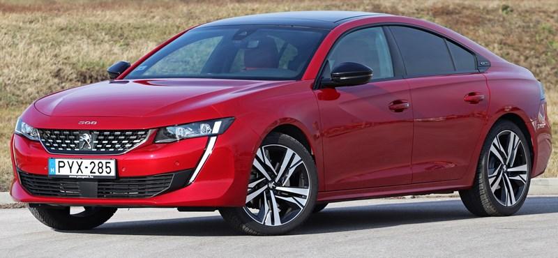 Unaloműző: teszten az Év Autója finalista új Peugeot 508