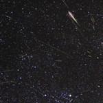 A világűrből kicsit félelmetes a csillaghullás - videó
