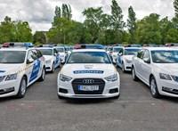 4 milliárd forintért 500 új autót kapott a rendőrség