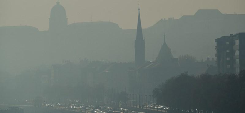 Három városban már egészségtelen a levegő