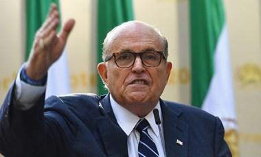 Rudy Giuliani elkapta a koronavírust