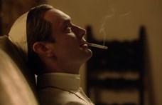 Az ifjú pápa után Hook kapitány lesz Jude Law
