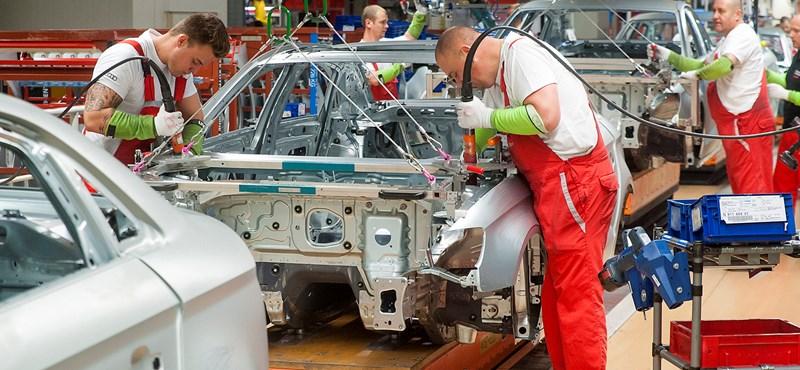Gyengén teljesít a magyar ipar