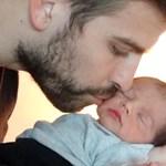 Itt az újabb fotó a kéthetes Piqué-Shakira babáról