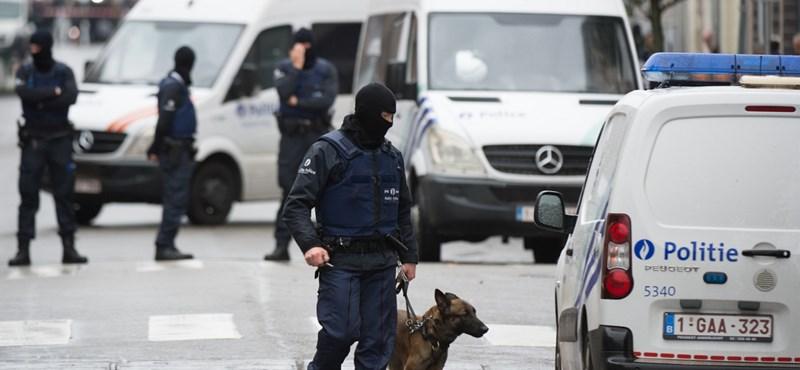 Lövöldözés volt Brüsszelben egy terrorizmussal kapcsolatos rendőri házkutatás során