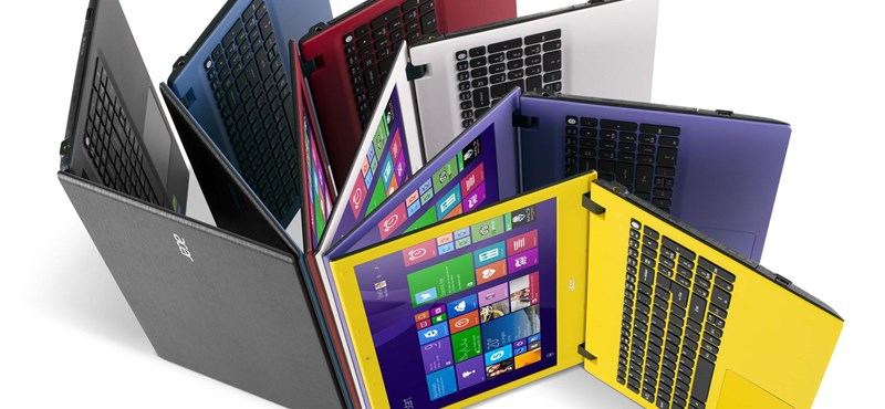 40+ új gépet mutatott be egyszerre az Acer