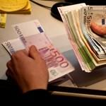 324 forint fölé drágult az euró