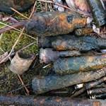 Világháborús lövedékeket fogtak ki egy tóból német gyerekek