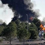 Lezuhant egy F-16-os a NATO-pilótaképzőnél, 10 halott, 13 sérült