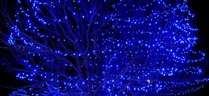 Karácsony Amerikában – lenyűgöző ünnepi fények