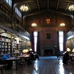 Képek: így néz ki az 5 legnagyobb és legszebb egyetemi könyvtár