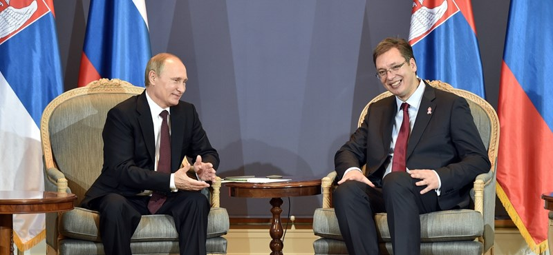 Putyin engedelmességet vár, és ez tetszik a szerb elitnek