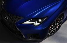 Szívómotoros V8-as őserő: itt az új Lexus RC F, félhet a BMW M4?
