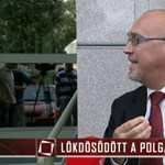 Meglökdöste a TV2 riporterét Érpatak polgármestere – videó