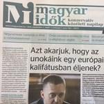 Lázár barátja kiszállt a Magyar Időkből