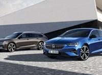 Új benzinmotorral és összkerekes dízelként érkezik az Opel Insignia