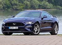 Jól áll neki az 55 év: jubileumi V8-as Ford Mustangot teszteltünk