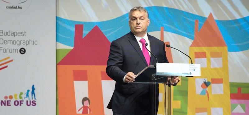És akkor Orbán Viktor mindenkit elküldött szülni