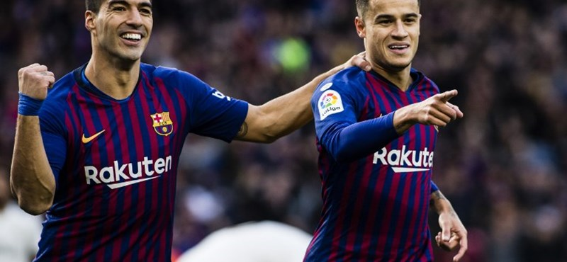 A Barcelona 5-1-re verte a Real Madridot - videóval