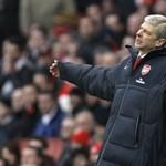 """""""Egy pillanatig sem voltunk a mérkőzésben"""" - Wenger a tegnapi zakóról"""