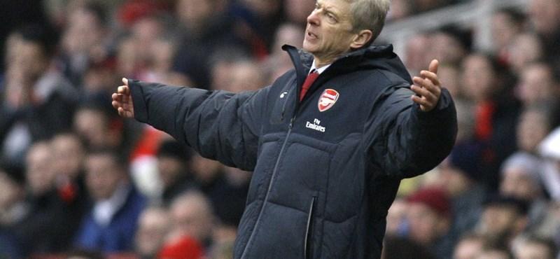 Megrúgta azt az egyet az Arsenal, amivel Wenger boldogan jubilált