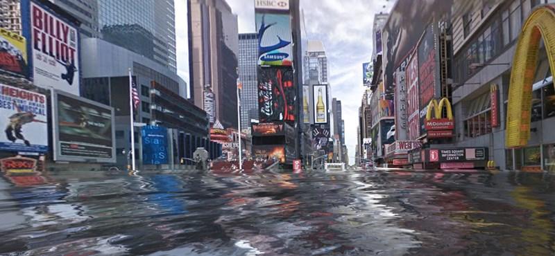 Nézze meg, hogyan nézne ki lakhelye, ha árvíz lenne