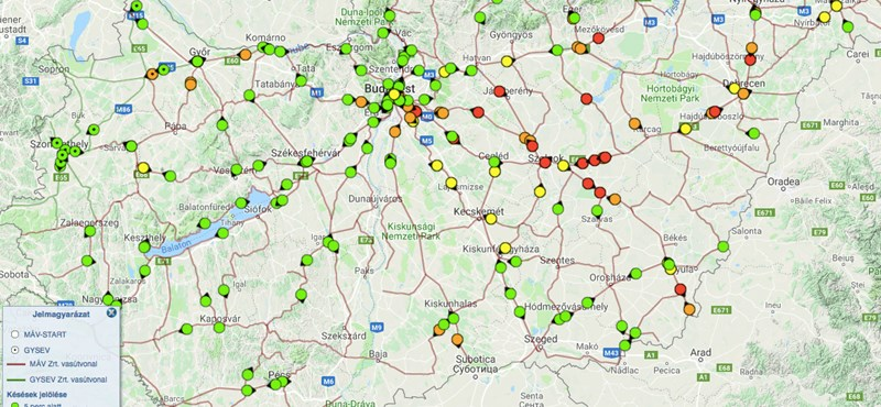 Ennél a térképnél jobban semmi nem foglalja össze a Kelet- és Nyugat-Magyarország közti különbséget