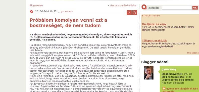Gyurcsány: Orbán fejet hajtott előttünk