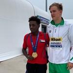 Rasovszky Kristóf jófejségből is aranyérmet szerzett