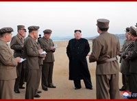 Ismeretlen fegyvert tesztelt Észak-Korea
