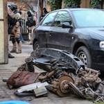 Több százmillós értékben, külföldről lopott kocsikat találtak egy telephelyen – videóval