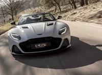 Milyen lehet 340-nel kabriózni? Ezzel az új Aston Martinnal ki lehet próbálni