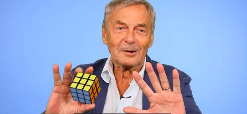 Rubik Ernő elárulta, neki meddig tartott, míg először kirakta a Bűvös Kockát