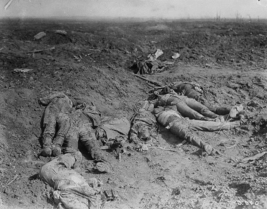 e_! - Somme-i csata - The battlefield after a Canadian charge