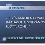 Jót simicskázott az RTL péntek este