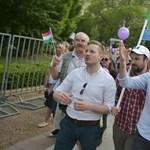 Fekete-Győr András meghirdette a kiegyezés politikáját a Momentum tüntetésén