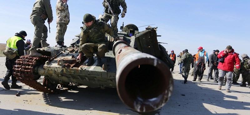 Lavrov: Újabb tűzszünetetről állapodtak meg Kelet-Ukrajnában