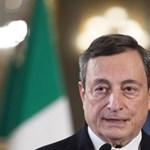 Nagy többséggel támogatta Mario Draghit az olasz felsőház