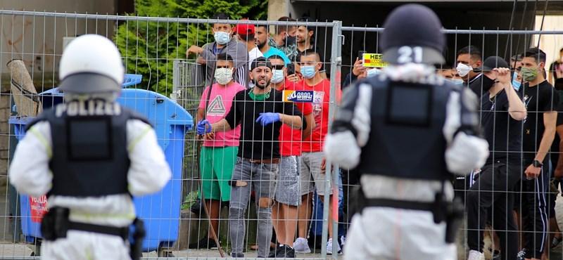 Több százan erőszakkal próbáltak meg kitörni a karanténból a németországi Göttingenben