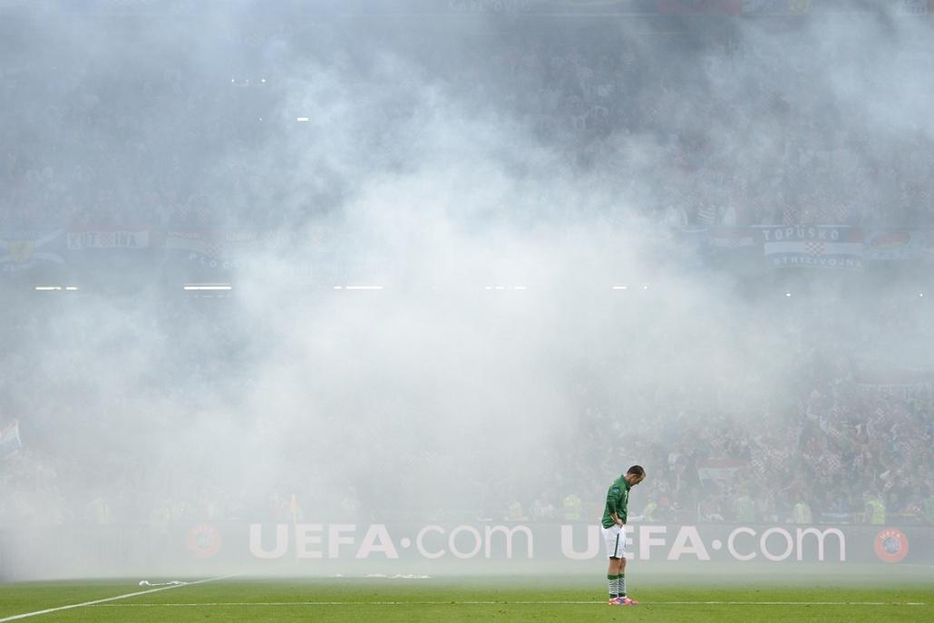 2012. június 10. - Poznan, Lengyelország: az Ír középpályás, Aiden McGeady a 2012-es labdarúgó-Európa-bajnokság C csoportjának egyik mérkőzésén. - évsportképei