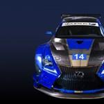 Ötszáz lóerős versenyautóval debütál Lexus gyári csapata