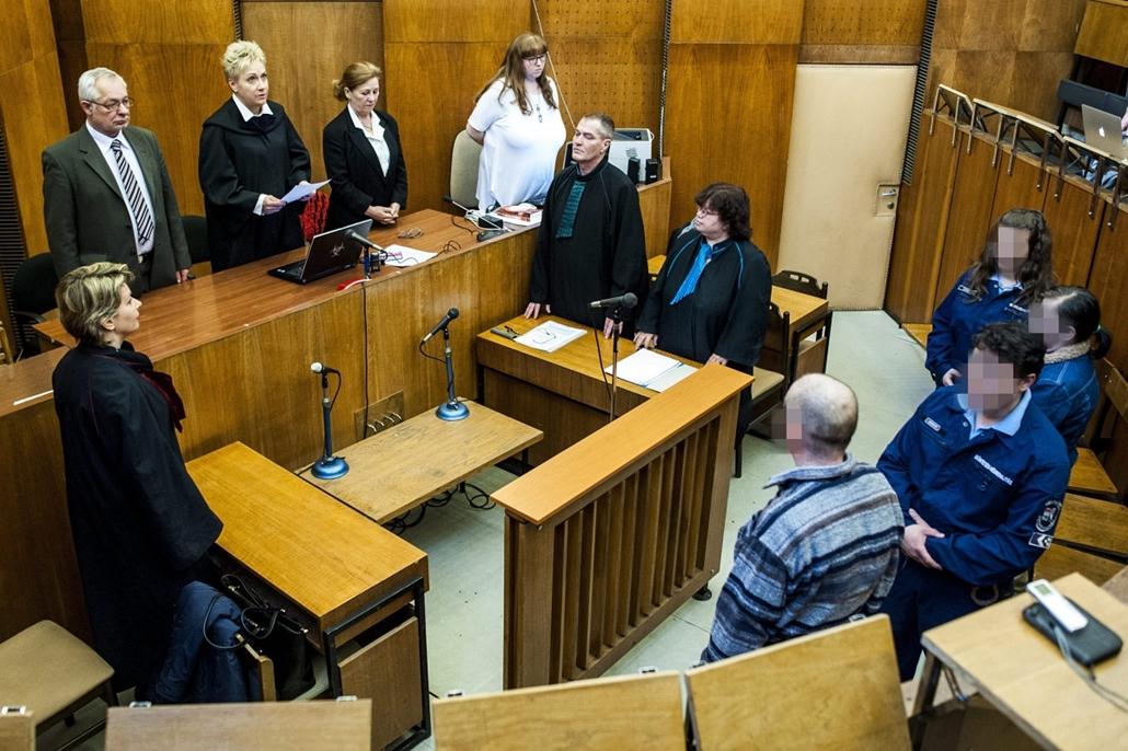 mti. 2015.02.24. Budapest, Szigetszentmiklósi gyermekbántalmazás - Kiskorú veszélyeztetése miatt ítélték el a szülőket - 7képei
